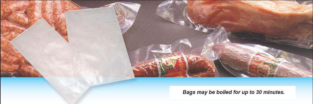 Case of 1000 Heavy-Duty Embossed 8x12 Vacuum Packaging Bags