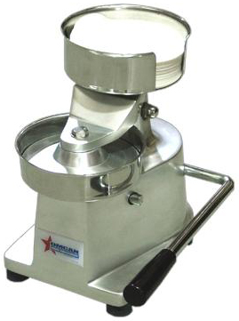 OMCAN Elite Series 4in Professional Manual Hamburger Press