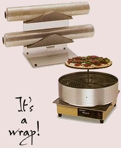 Wisco Take & Bake Pizza Wrapping Machine & Package