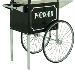 Paragon BLACK Cart for 6 and 8oz 1911 BLK Popcorn Machines
