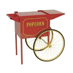 Paragon RED Cart for 6 and 8oz 1911 Popcorn Machines