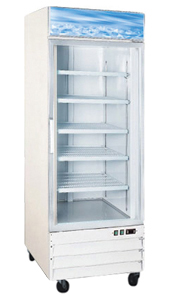 OMCAN 23cf 1-Glass Door Commercial FREEZER (PREMIUM edition)