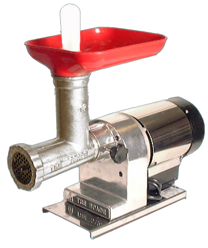 OMCAN #8 Residential Stainless Italian Electric Meat Grinder