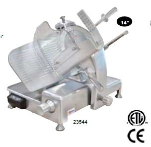 "OMCAN 14"" Deli Meat Slicer 0.5hp"