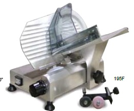 "OMCAN ITALIAN-MADE 8"" Deli Meat Slicer 0.20hp"