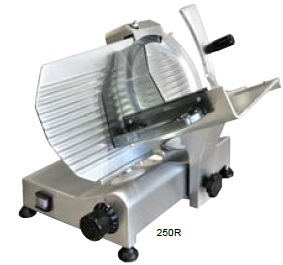"OMCAN ITALIAN-MADE 10"" Deli Meat Slicer 0.25hp"