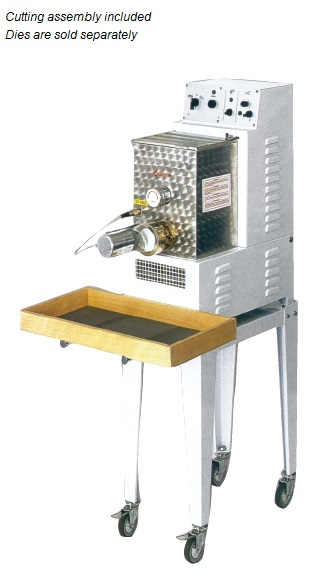 Avancini 8.8lb Pasta Machine with Cutter made in Italy