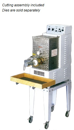 Avancini 13lb Capacity Pasta Machine with Cutter made in Italy