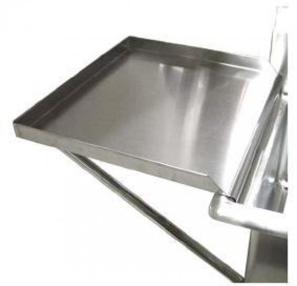 Stainless Knockdown Drain Board for 24 x 24 Sink
