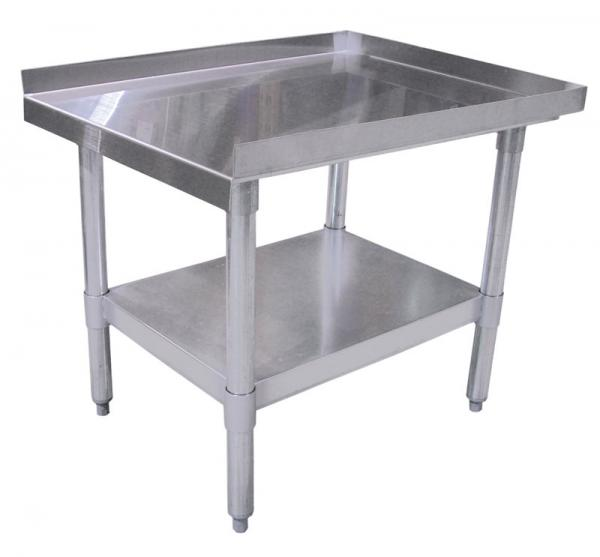 30 x 72 Commercial Stainless Steel Equipment Stand