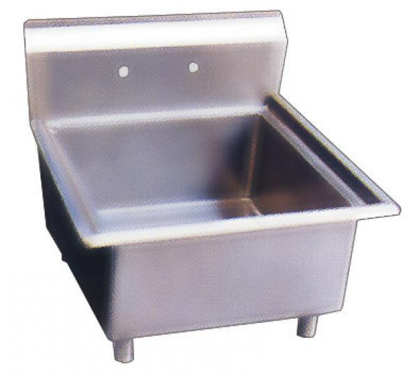 18x18x11 Stainless Steel One Tub Pot Sink