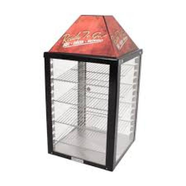 Wisco 690-25 4-Shelf Food Warmer Cabinet (2 door)