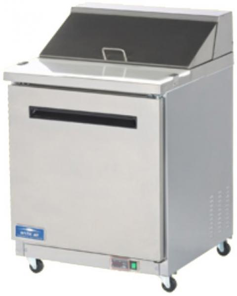 "Arctic Air 29""W Commercial MEGATOP Sandwich & Salad Prep Table"