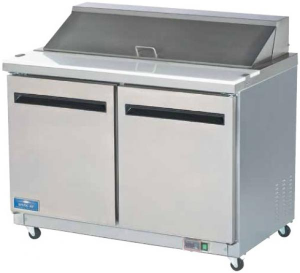 "Arctic Air 61""W Commercial MEGATOP Sandwich & Salad Prep Table"