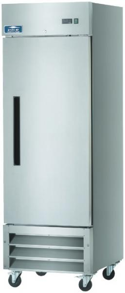 Arctic Air 23cf 1-Door Stainless Commercial Reach-In Cooler Refrigerator