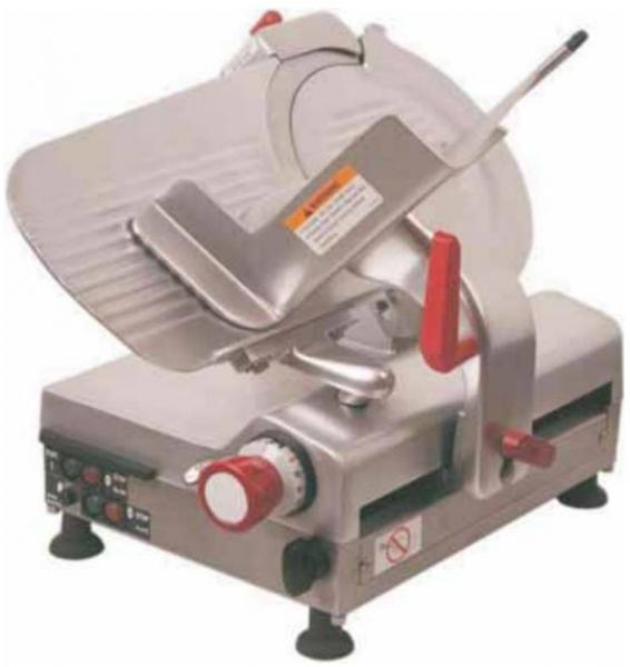 Axis 12in Automatic Belt-driven Commercial Meat & Cheese Slicer