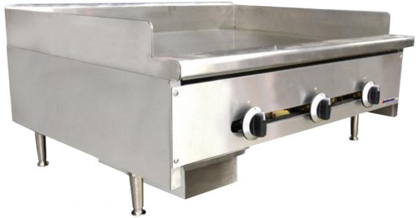 OMCAN 36in 84,000 BTU Commercial Griddle (Natural Gas or LP)