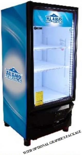 Criotec 10cf 1-Glass Door Display Cooler Refrigerator