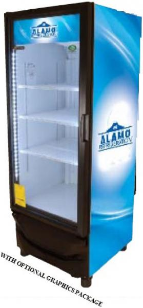 Criotec 13cf 1-Glass Door Display Cooler Refrigerator