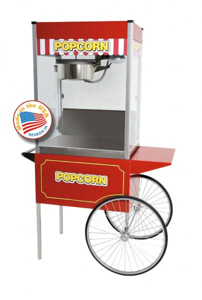 Paragon Classic Pop HUGE 16oz Popcorn Machine w/Cart