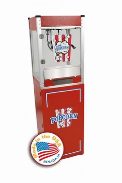 Paragon 4oz Cineplex RED Popcorn Machine w/Stand
