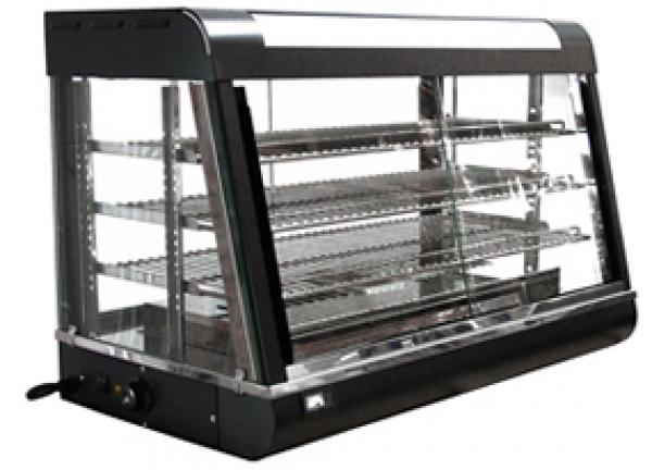 Omcan LARGE Bakery Deli Heated Food Merchandiser Case