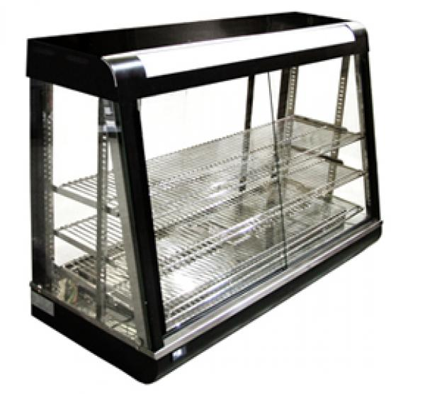 Omcan EXTRA-LARGE Bakery Deli Heated Food Merchandiser Case