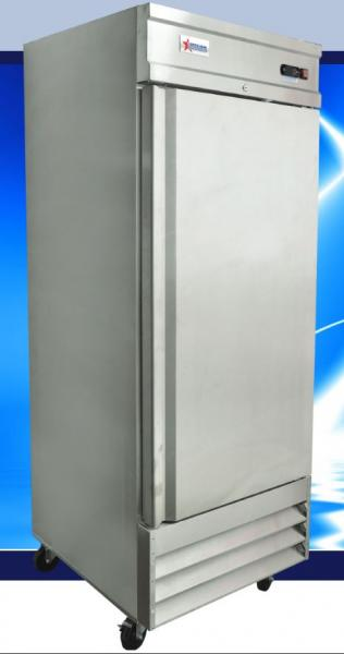 OMCAN 21cf 1-Door Stainless Commercial Reach-in Freezer (PREMIUM edition)
