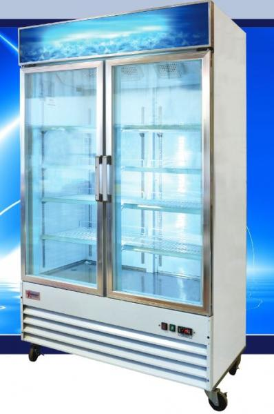 OMCAN 25cf 2-Glass Door Commercial FREEZER (PREMIUM edition)