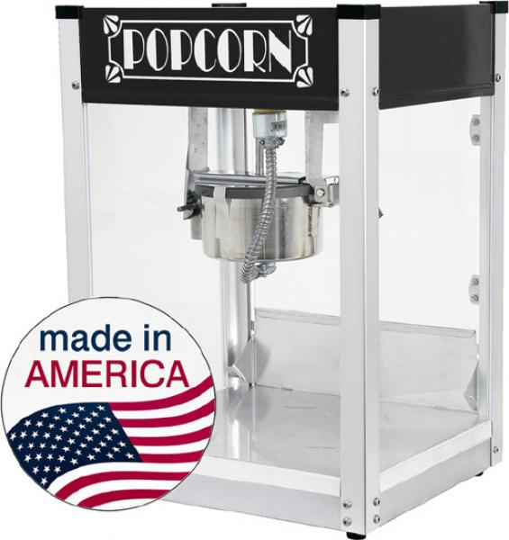 Paragon 4oz Gatsby Popcorn Machine BLACK