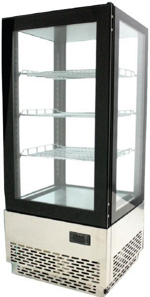 OMCAN 17x15x39H Countertop Glass Refrigerated Display Case