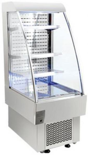 "OMCAN 8.1cf 24"" Open Air Refrigerated Grab and Go Display Case"