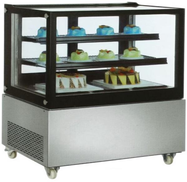 OMCAN 48in Flat Glass Refrigerated Display Case