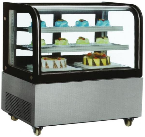 OMCAN 48in Curved Glass Refrigerated Display Case
