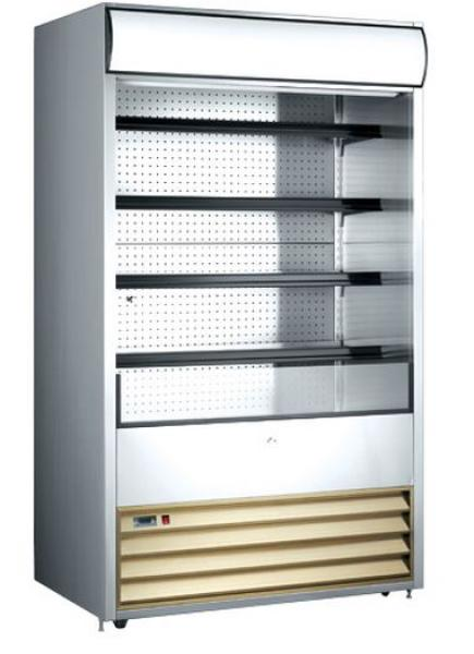 "OMCAN 24.7cf 48"" Open Air Refrigerated Grab and Go Display Case"
