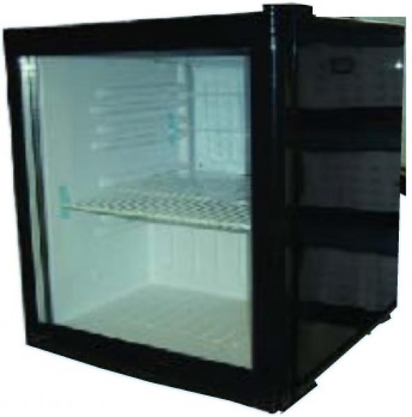 Alamo 2.0cf Countertop Commercial Glass Display Refrigerator