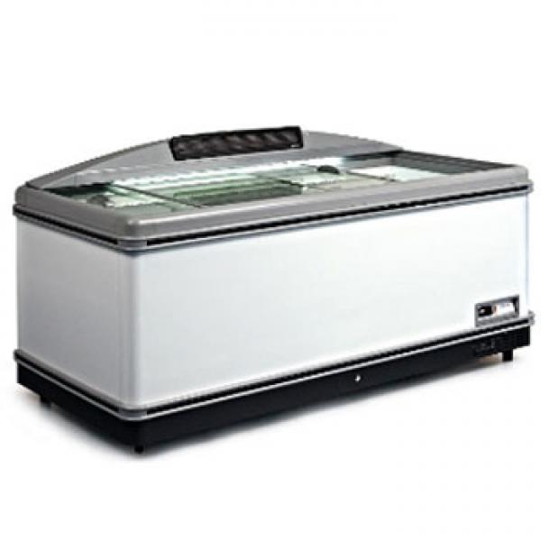 Fricon 75in Commercial Supermarket Glass-top Display Freezer with Electronic Display