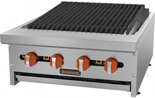 Sierra 24in Commercial Gas Char-Broiler