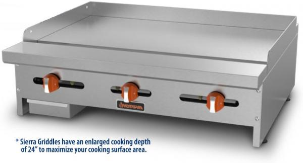 Sierra 24in Commercial Gas Griddle
