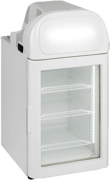 Alamo 2.6cf Countertop Commercial Glass Display FREEZER