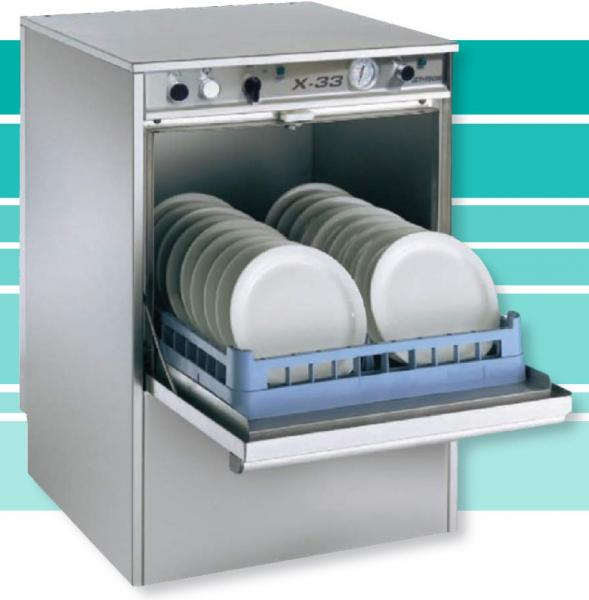 Jet-Tech X-33 LOW-temp Undercounter Commercial Dishwasher