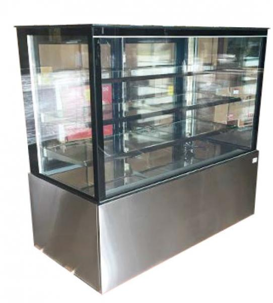 "Alamo 60"" Refrigerated Glass Bakery Display Case"