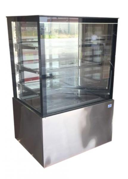 "Alamo 36"" Refrigerated Glass Bakery Display Case"