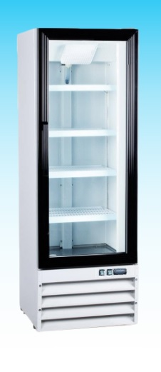 OMCAN 9cf 1-Glass Door Commercial Refrigerator Merchandiser (PREMIUM edition)