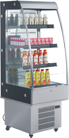 OMCAN 8.8cf Open Air Grab and Go Commercial Refrigeration Display Case