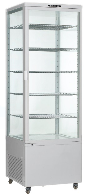 OMCAN Vertical 18cf Glass Refrigerated Display Case