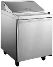 "Alamo 27""W 1-Door Commercial Refrigerated Sandwich & Salad Prep Table"