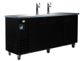 "Kool-it Ikon 73"" 2-Tower Commercial Kegerator (4 half-kegs)"