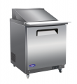 "Valpro 29"" MEGATOP Sandwich and Salad Prep Table Refrigerator"