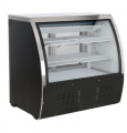 Alamo 47in 18cf Curved Glass Refrigerated Bakery Deli Meat Case